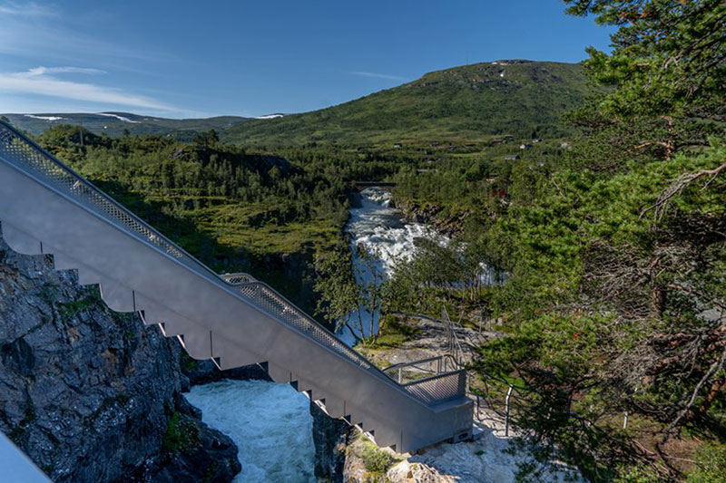 norway just built a 99 step bridge over their most iconic waterfall 14 Norway Just Built a 99 Step Bridge Over Their Most Iconic Waterfall