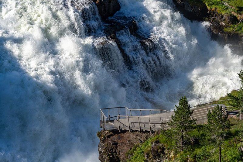 norway just built a 99 step bridge over their most iconic waterfall 15 Norway Just Built a 99 Step Bridge Over Their Most Iconic Waterfall