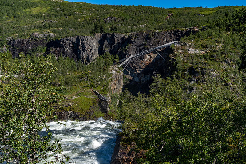 norway just built a 99 step bridge over their most iconic waterfall 18 Norway Just Built a 99 Step Bridge Over Their Most Iconic Waterfall