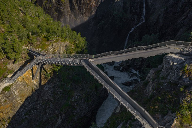 norway just built a 99 step bridge over their most iconic waterfall 19 Norway Just Built a 99 Step Bridge Over Their Most Iconic Waterfall