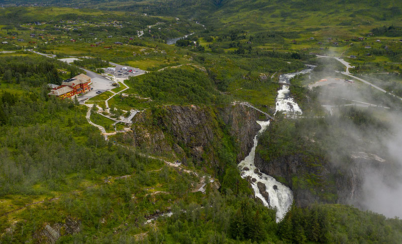 norway just built a 99 step bridge over their most iconic waterfall 6 Norway Just Built a 99 Step Bridge Over Their Most Iconic Waterfall