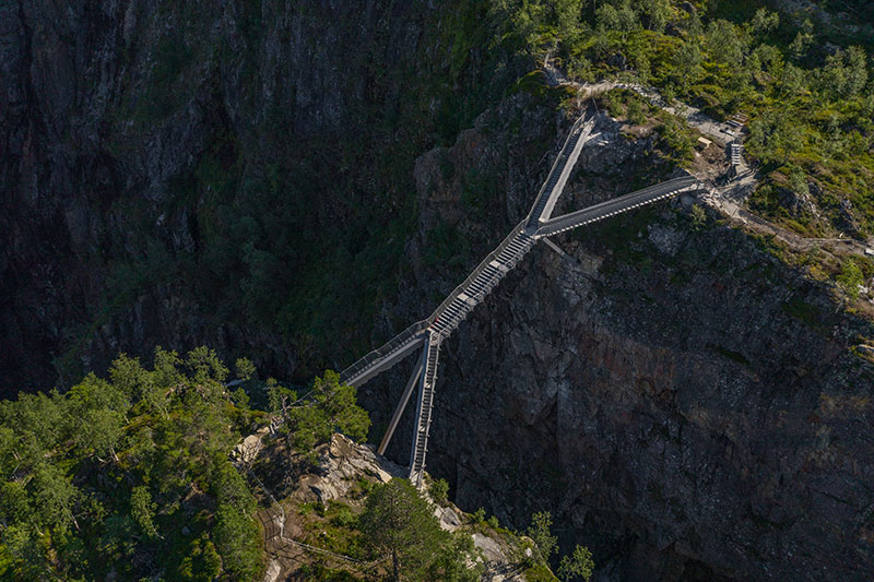 norway just built a 99 step bridge over their most iconic waterfall 8 Norway Just Built a 99 Step Bridge Over Their Most Iconic Waterfall