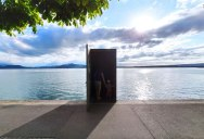 The Real Life 'Truman Show' Door in Lake Zug, Switzerland