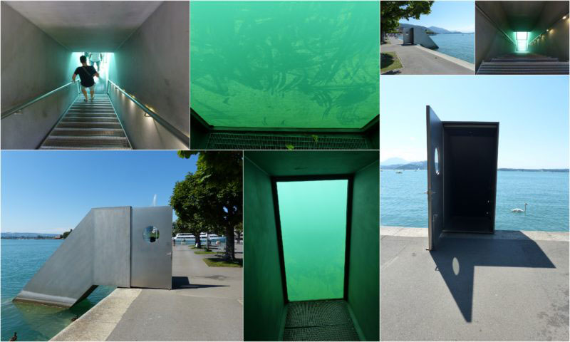 real life truman show door lake zug switzerland underwater observatory 2 The Real Life Truman Show Door in Lake Zug, Switzerland