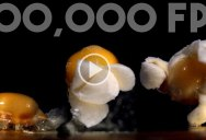 Everything Looks Cooler in Slow Motion, Like Popcorn Popping at 100,000 FPS