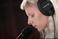 Norwegian Singer-Songwriter AURORA Delivers Stunning Cover of 'Teardrop' by Massive Attack