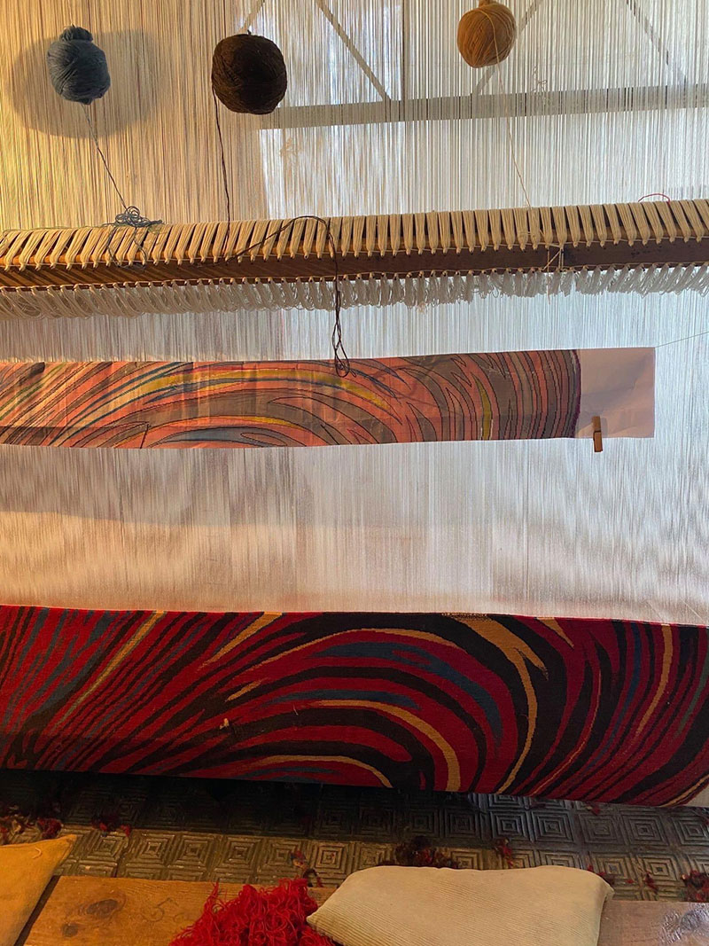 melting glitch rug by faig ahmed 5 1 This Melting Glitch Rug by Faig Ahmed is Incredible