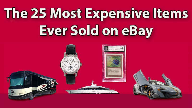 25 most expensive things ever sold on ebay 3 The 25 Most Expensive Things Ever Sold on eBay