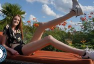 This Texas Teen Has the Longest Legs in the World