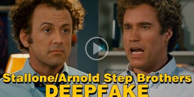 This Stallone and Schwarzenegger Step Brothers Deepfake Cannot be Unseen