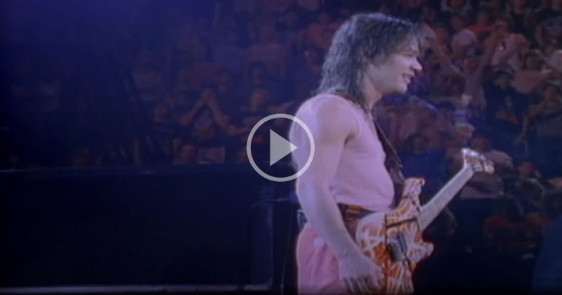The 13 Minute Solo That Cemented Eddie Van Halen as a Guitar Legend