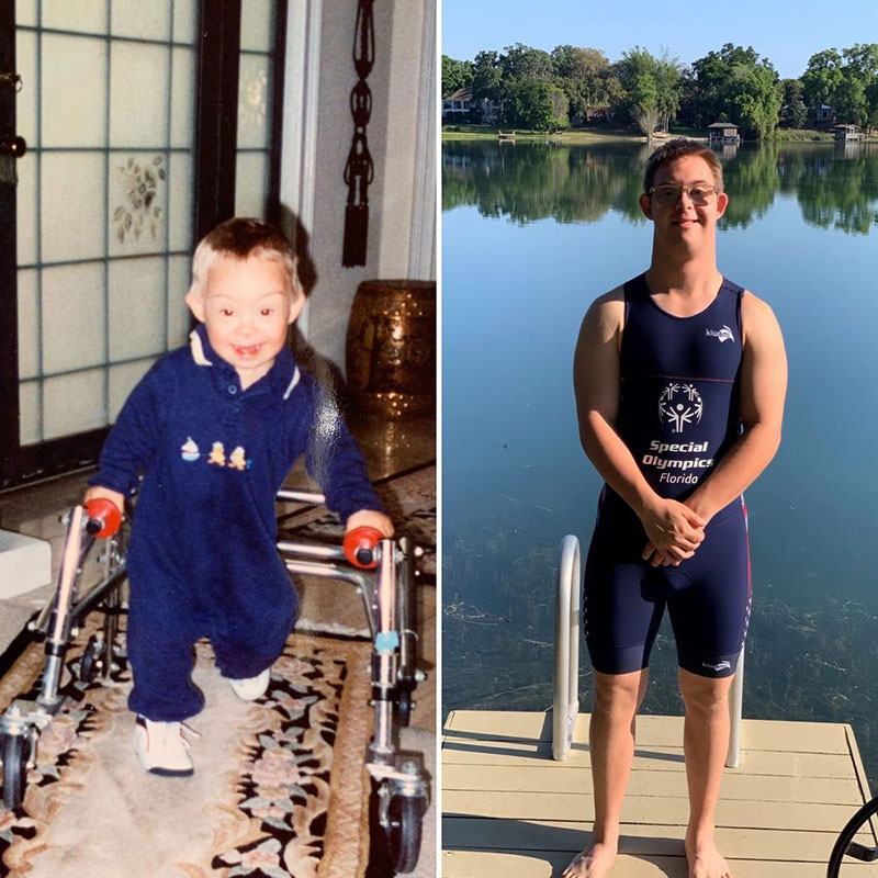 chris nikic first person with down syndrome to ever do an ironman Chris Nikic is the First Person with Down Syndrome to Ever Complete a Full Ironman