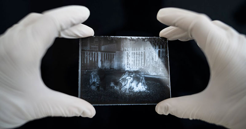 This Guy Found a 120 Year Old Time Capsule and Developed the Photos Inside