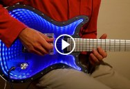 This Guy Built an Infinity Mirror Guitar and It Looks Incredible