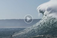 "Hurricane Epsilon Produced a ""Century Swell"" at Nazaré and the Surf Clips are Insane"