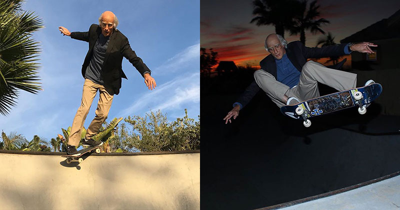 Tony Hawk Went as Larry David for Halloween and It's Pretty Good