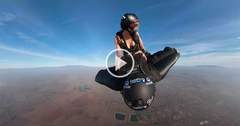 This Is One of the Most Surreal Wingsuit Videos You Will See
