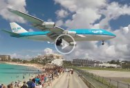 An Incredible 4K Compilation of Planes Taking Off and Landing Above Maho Beach, St Maarten