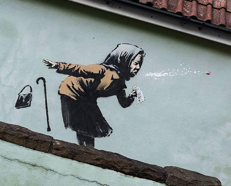 banksy bless you sneeze street art 2020 1 Bless You Banksy