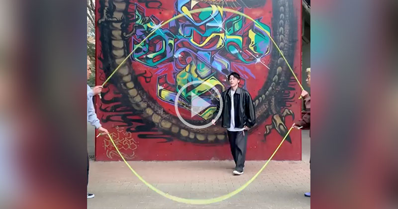 This Double Dutch Dance Routine is Mesmerizing