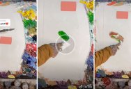 Watching This Artist Perfectly Match Any Color is Strangely Captivating