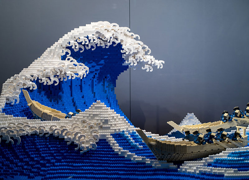lego great wave off kanagawa jumpei mitsui 1 The Worlds Youngest Ever Lego Certified Professional Just Made this 50,000 piece Great Wave