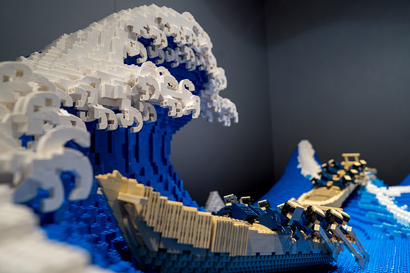 lego great wave off kanagawa jumpei mitsui 2 The Worlds Youngest Ever Lego Certified Professional Just Made this 50,000 piece Great Wave