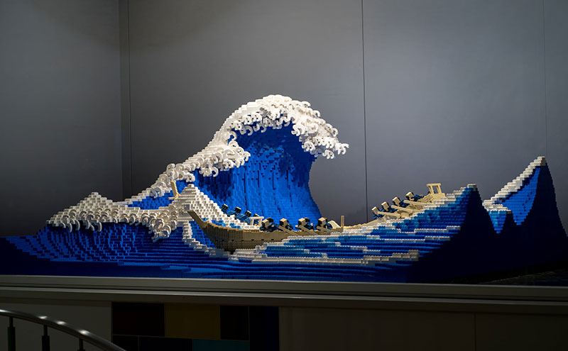 lego great wave off kanagawa jumpei mitsui 9 The Worlds Youngest Ever Lego Certified Professional Just Made this 50,000 piece Great Wave