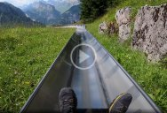 When Travel Resumes Let's All Go for a Ride on this Mountain Coaster in Switzerland