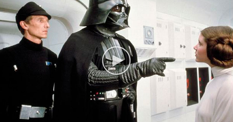 What Darth Vader Sounded Like On Set Before James Earl Jones' Voice Over