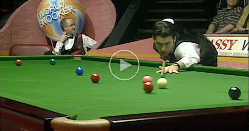 In 1997, Ronnie O'Sullivan Shot the Fastest Maximum Break in Snooker History and It's Utterly Beautiful