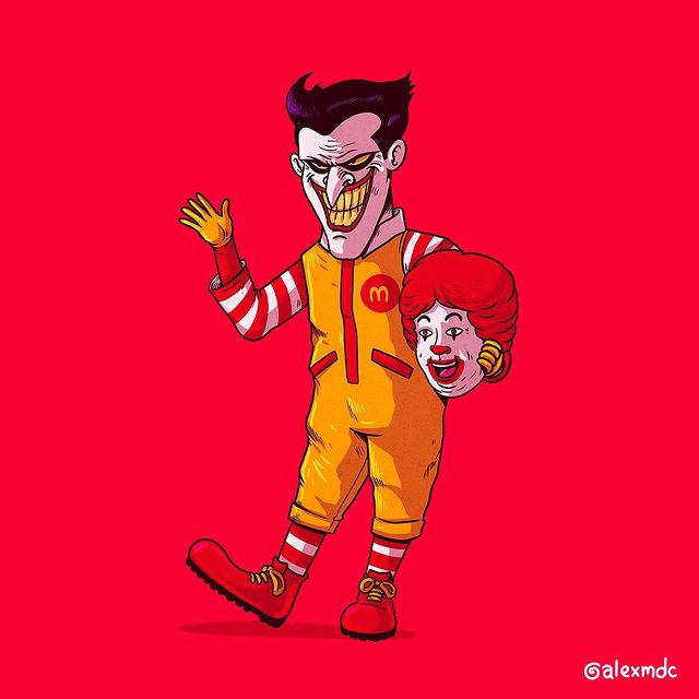 icons unmasked by alex solis alexmdc 8 Artist Unmasks Famous Characters in Hilarious Series of Illustrations