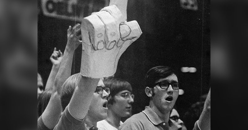 The First Foam Finger Prototype, 1971