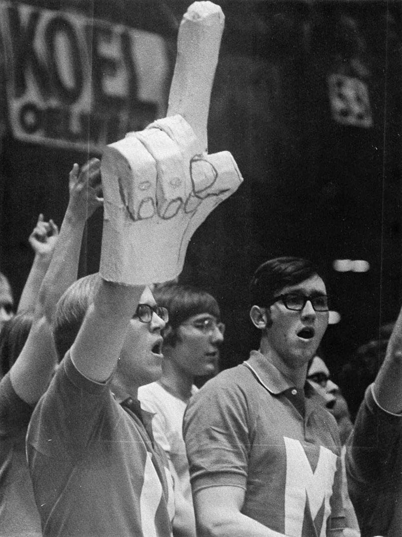 original foam finger prototype 1971 The First Foam Finger Prototype, 1971