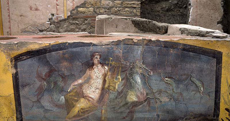 An Amazingly Preserved Snack Bar in Pompeii was Just Revealed in its Entirety