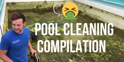 Satisfying Pool Cleaning Compilation