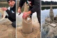 Amazing Artist Recreates Hogwarts Out of Sand