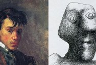The First (1896) and Last (1972) Self-Portrait of Pablo Picasso