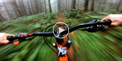 This Mountain Bike Ride Through a Foggy Forest Looks Incredible