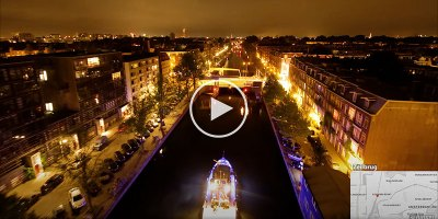 This 10 Minute Timelapse Through Holland's Amazing Canal System is Pure Bliss