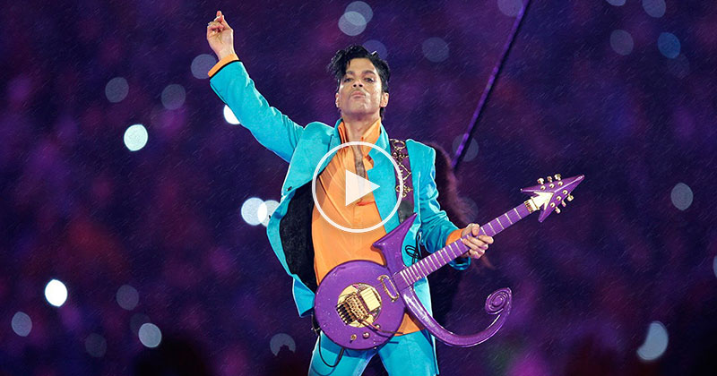 No Halftime Show Will Ever Match Prince Playing Purple Rain During a Rain Storm