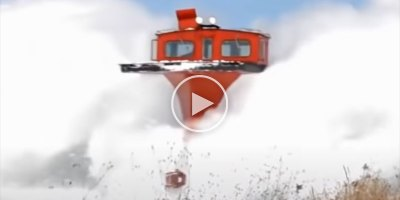 Just a Giant Compilation of Snow Plowing Trains