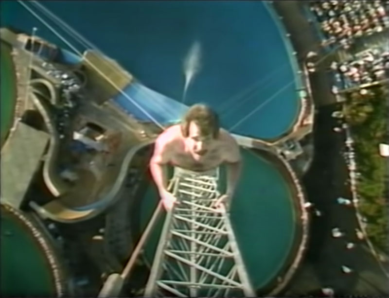 1983 world record high dive competition seaworld 10 The 1983 World Record High Dive Competition was Absolutely Mad