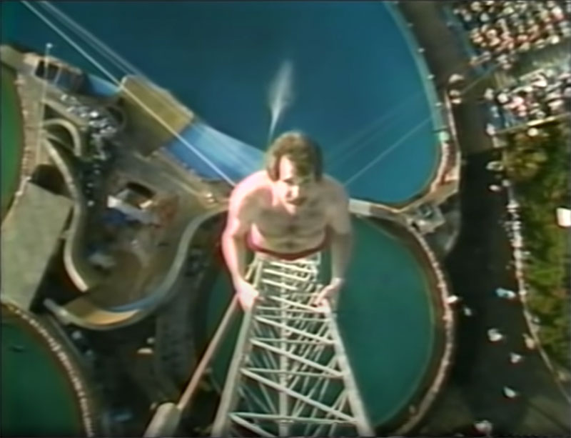 1983 world record high dive competition seaworld 11 The 1983 World Record High Dive Competition was Absolutely Mad