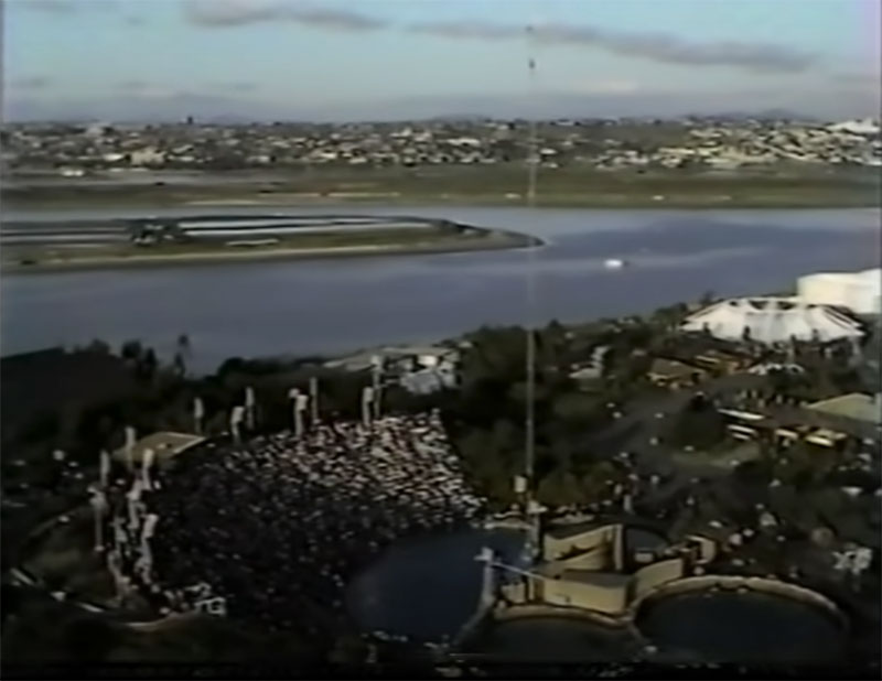 1983 world record high dive competition seaworld 14 The 1983 World Record High Dive Competition was Absolutely Mad