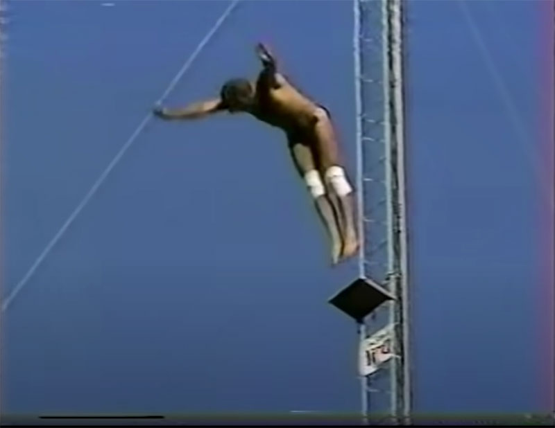 1983 world record high dive competition seaworld 15 The 1983 World Record High Dive Competition was Absolutely Mad