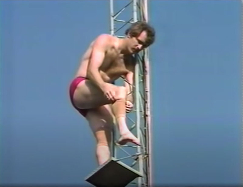 1983 world record high dive competition seaworld 16 The 1983 World Record High Dive Competition was Absolutely Mad