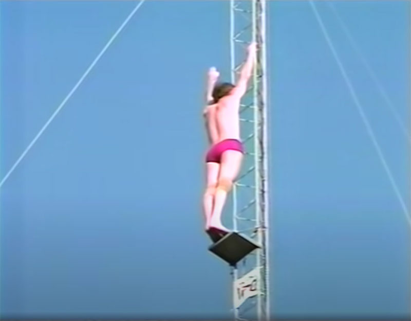 1983 world record high dive competition seaworld 17 The 1983 World Record High Dive Competition was Absolutely Mad