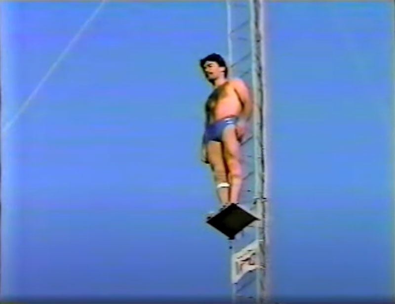 1983 world record high dive competition seaworld 8 The 1983 World Record High Dive Competition was Absolutely Mad