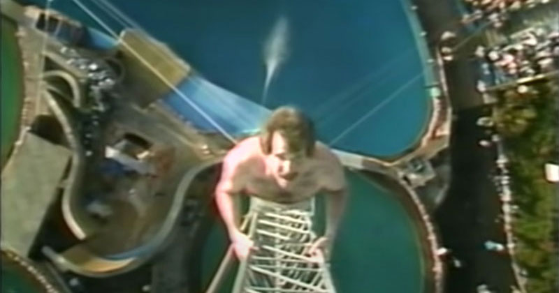 The 1983 World Record High Dive Competition was Absolutely Mad